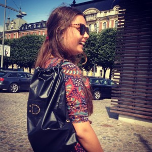 Street style with Dailidesign bagpack with :D