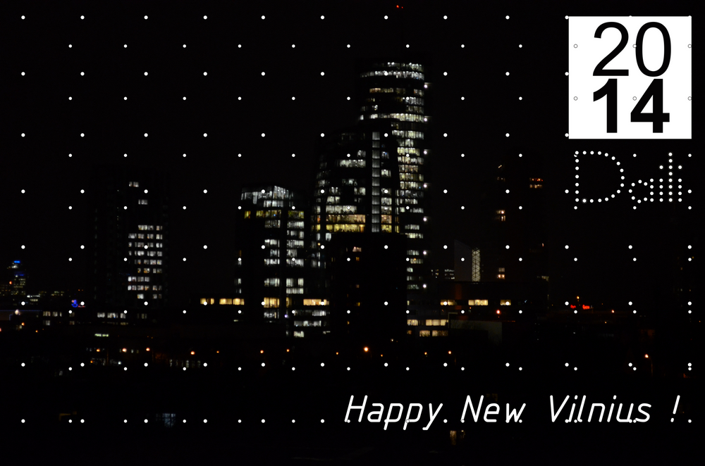 happy new Vilnius 2014