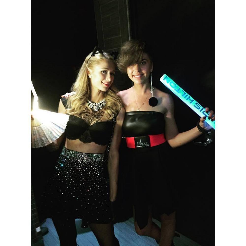 Simona Bandita & Paris Hilton (Daili)