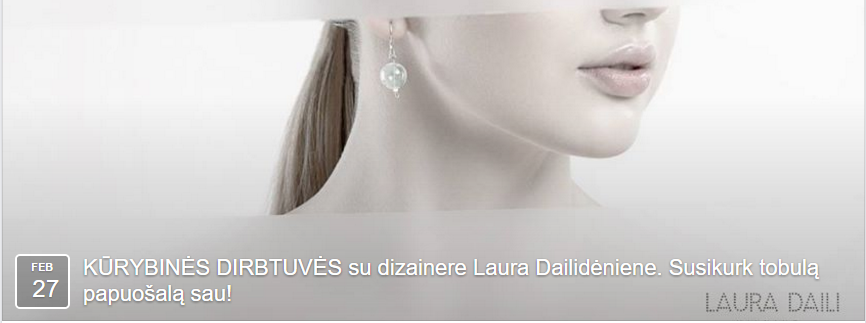 Laura Daili workshopas