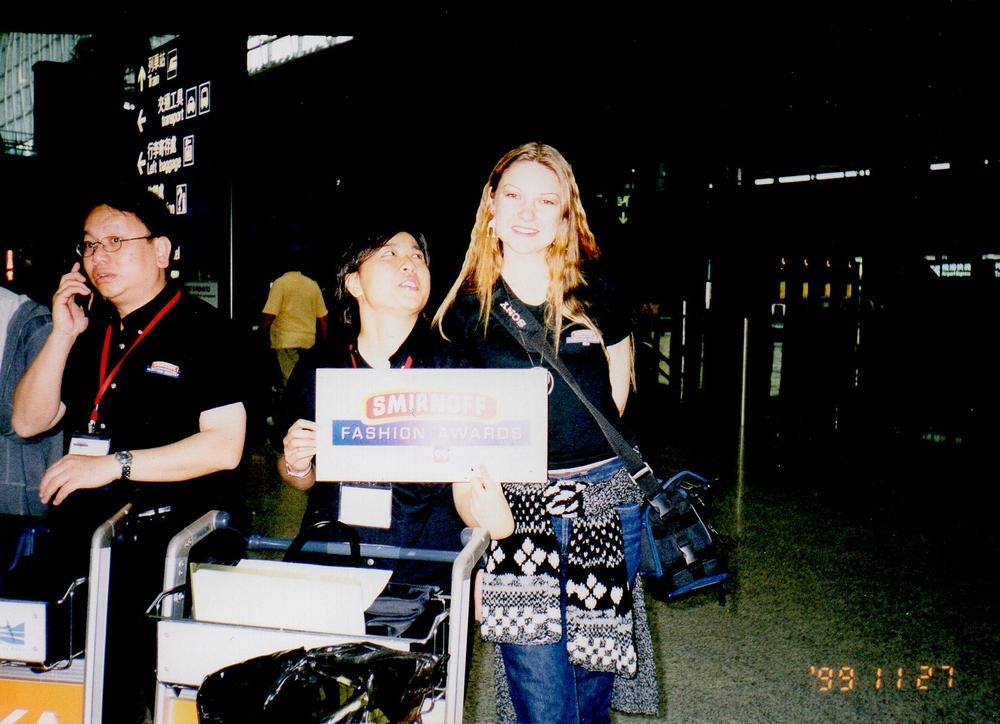 Hong Kongas '99 - 2000 konkurso 'Smirnoff Fashion Awards' finalas , renginys vyko savaitę.  (3) – kopija