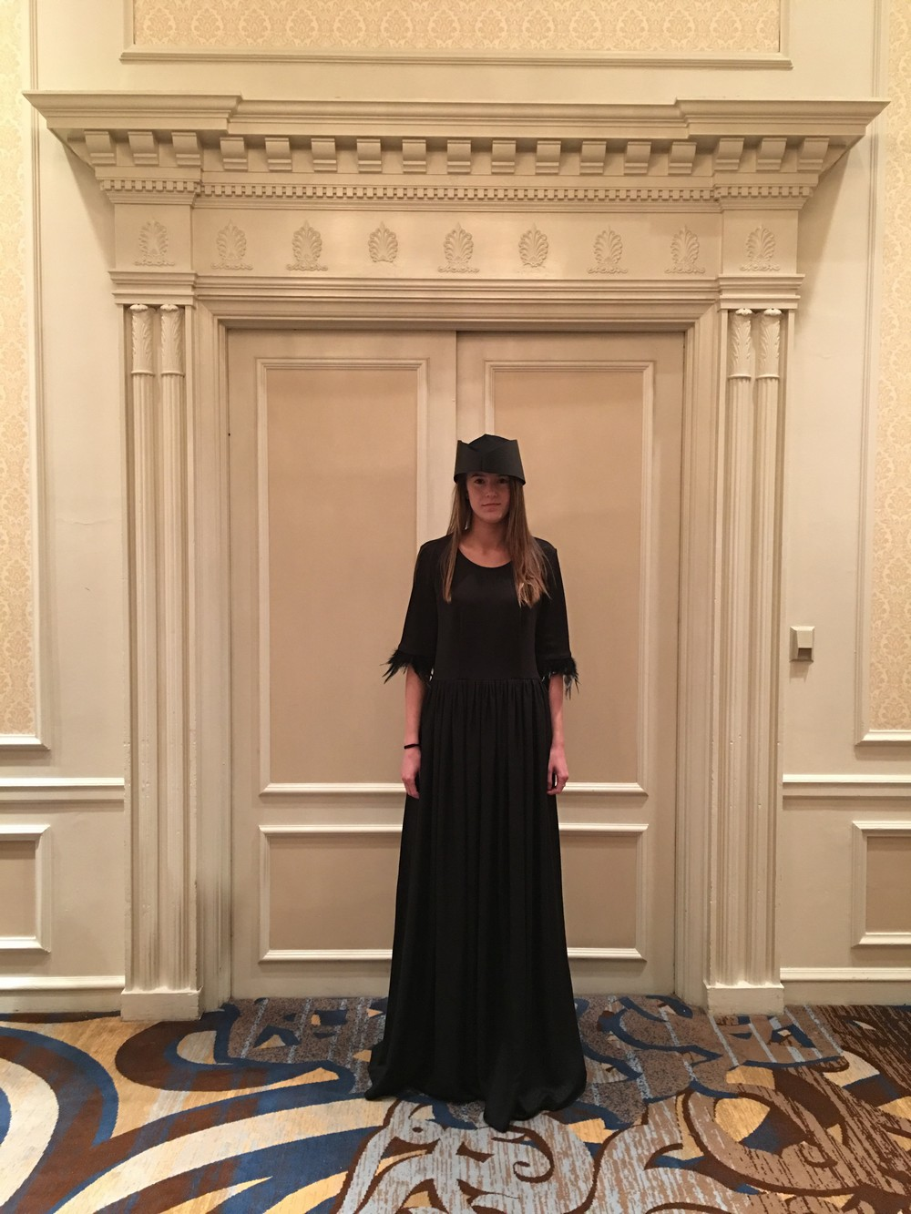 Laura Daili Vilnius  2016 fw collection during Chicago Fashion Week at The Drake Hotel suported by Monique Monique (3)