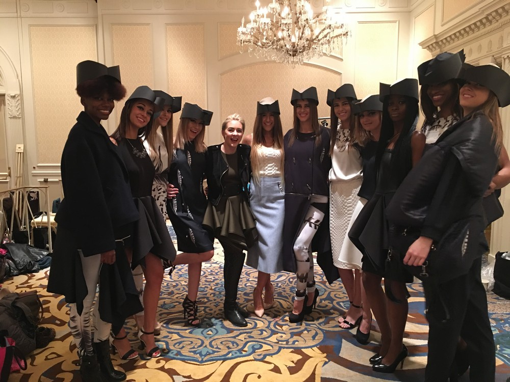 Laura Daili Vilnius  2016 fw collection during Chicago Fashion Week at The Drake Hotel suported by Monique Monique (9)