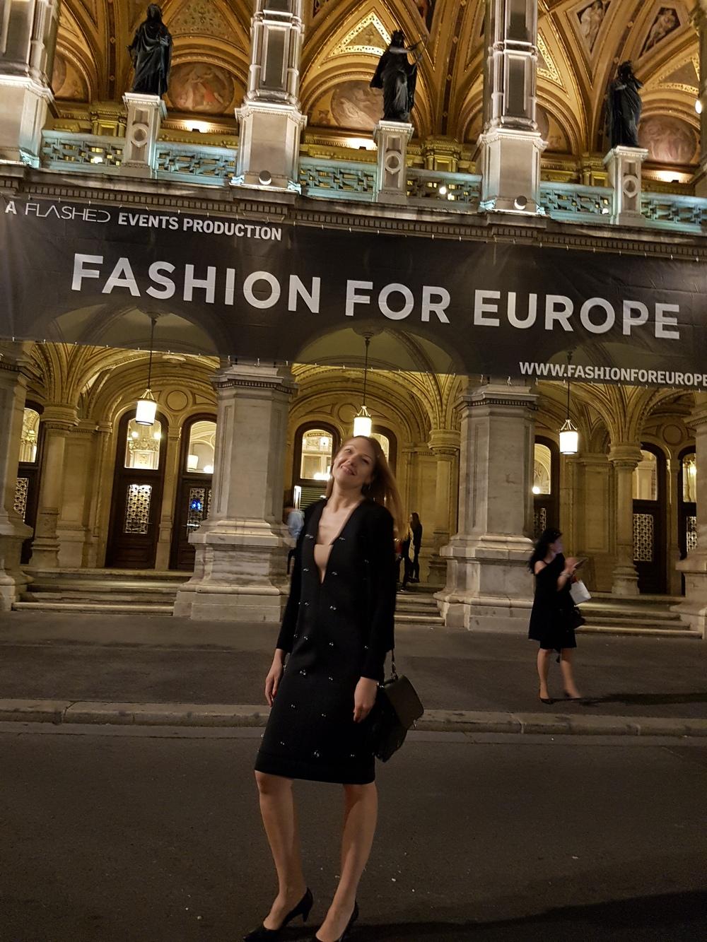 Laura Dailideniene fashion for europe  Laura Daili