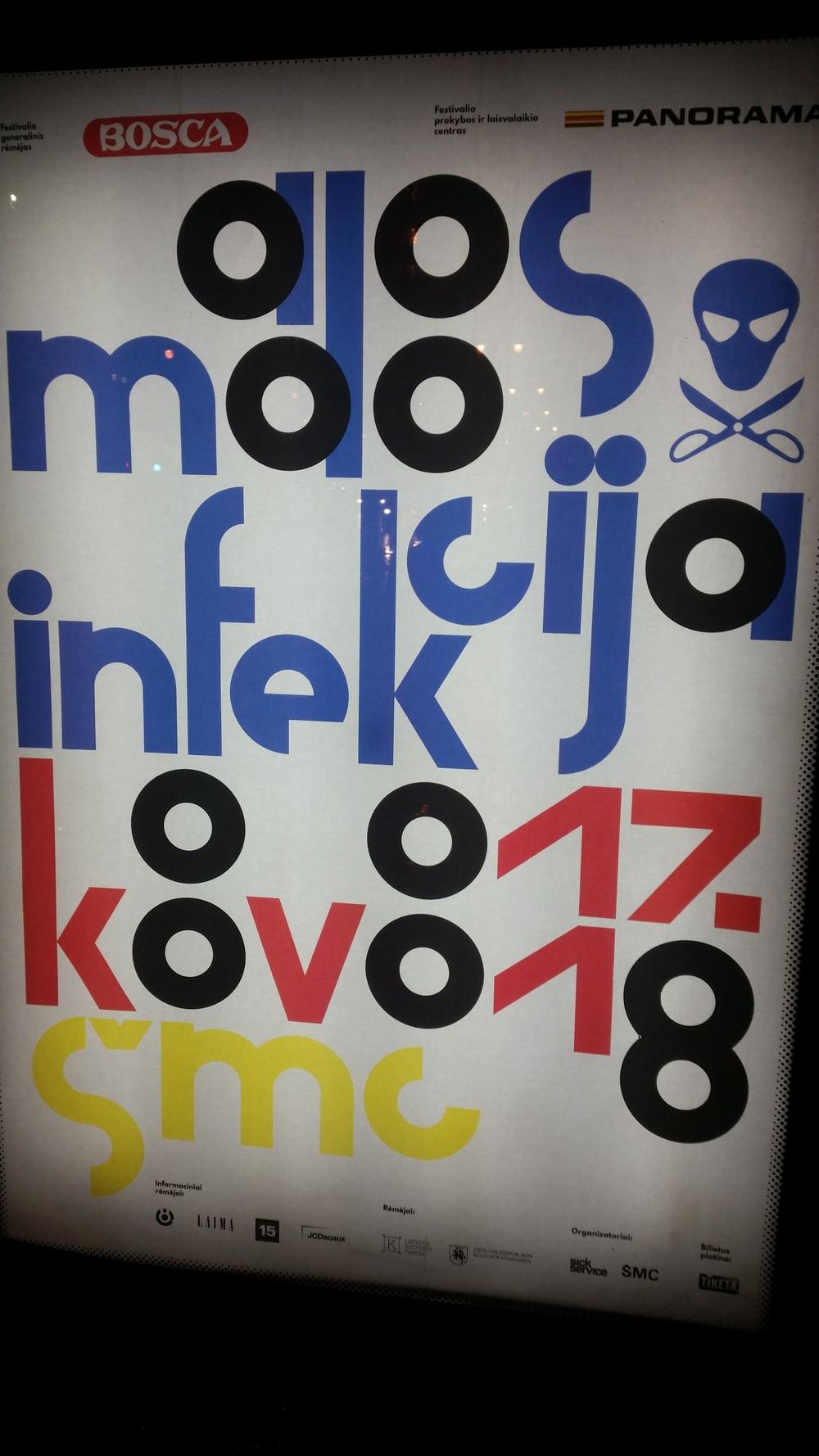 mADOS iNFEKCIJA Lithuanian design