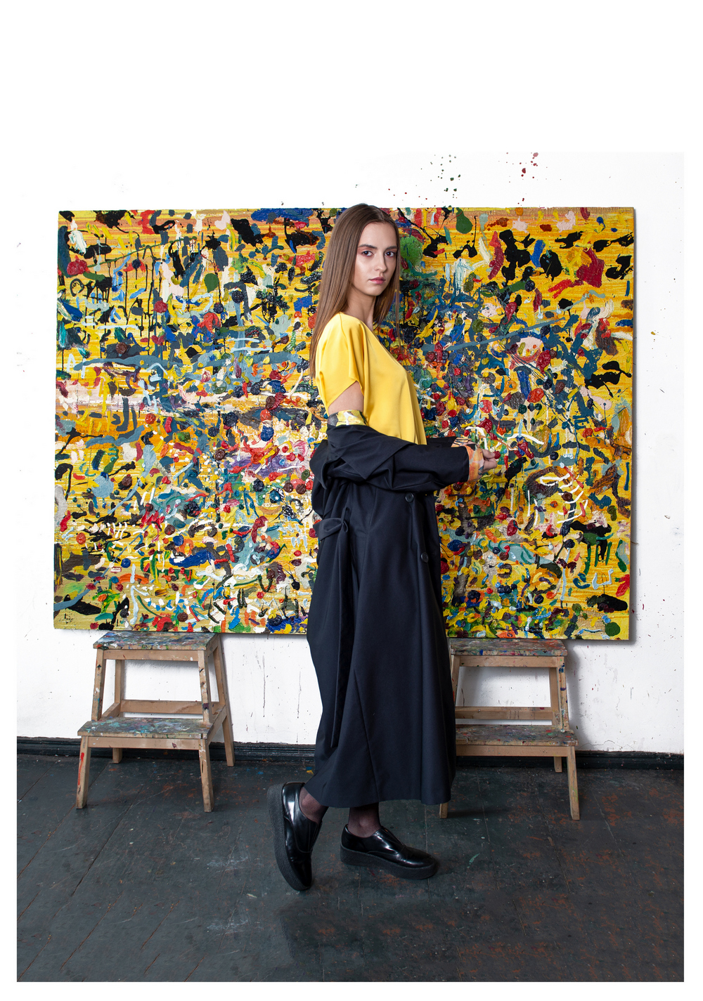 Laura Daili 'Paint Your Life' tapytoja K. Dineikaitė, foto Labas Lape (1)