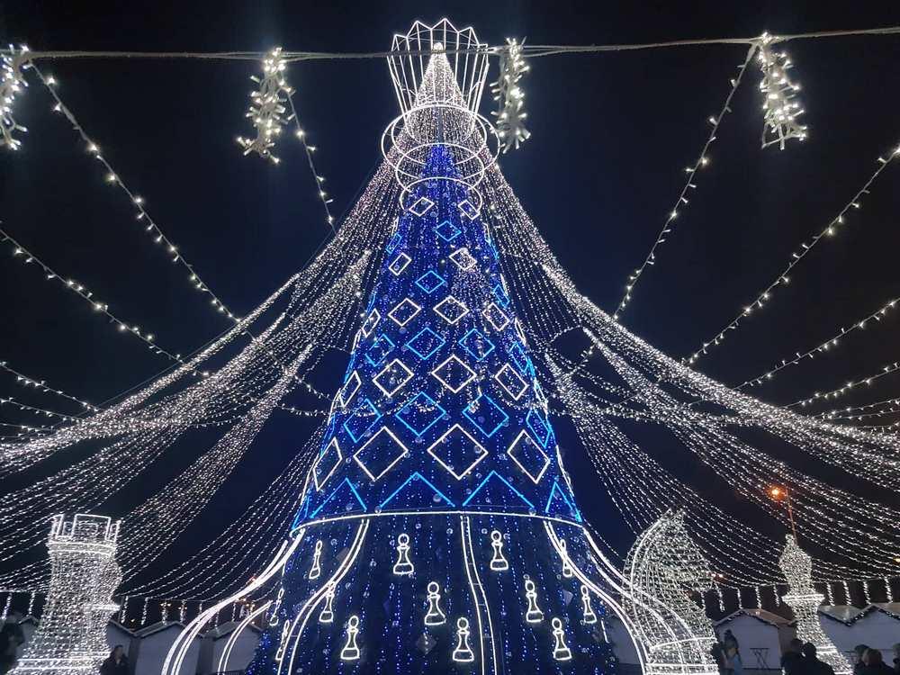 naujametinis sveikinimas laura daili su naujais metais, happy new year, christmas tree vilnius lithuania (2)