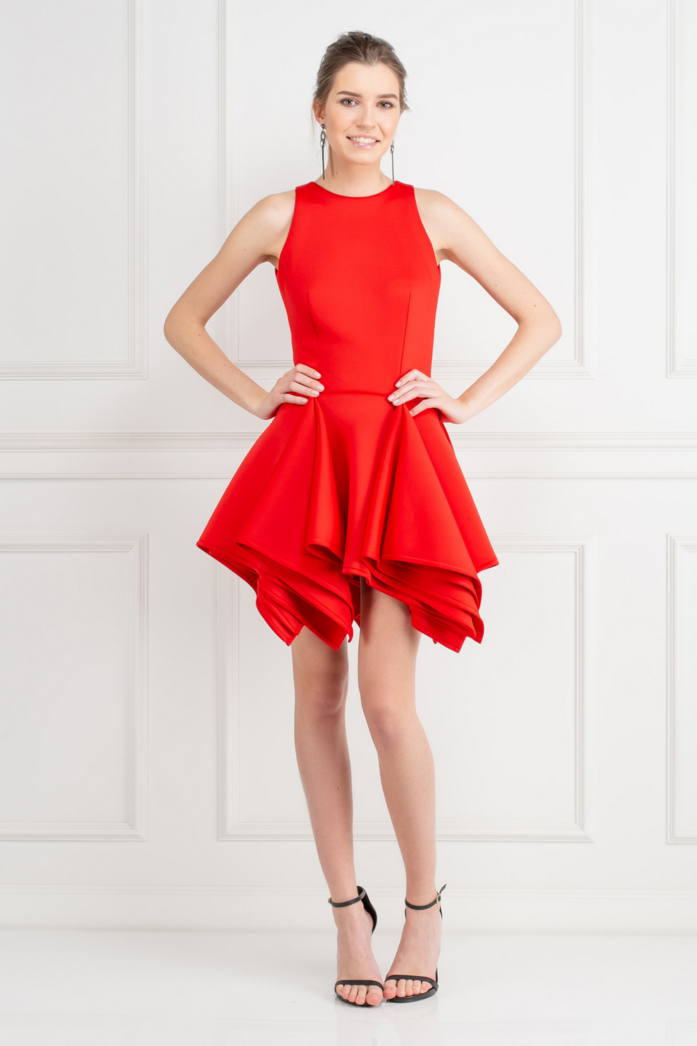 red-claudia-dress