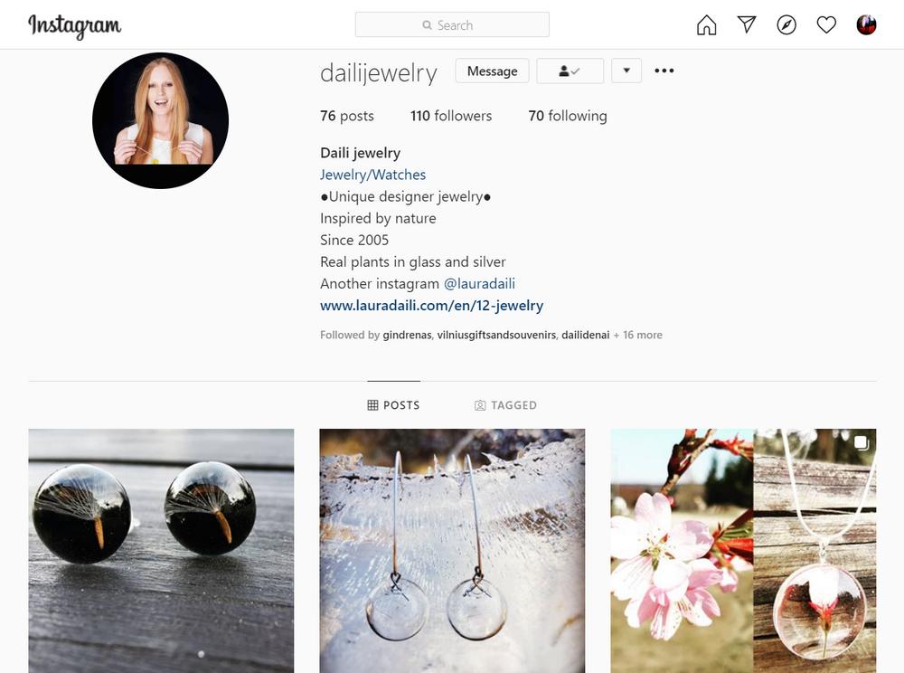 Laura Daili instagram, daili, dailijewelry, Dailideniene Dailidenas (2)