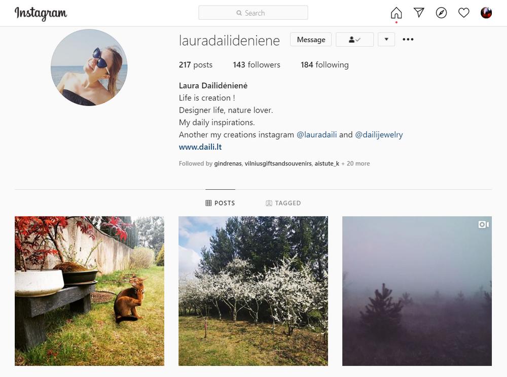 Laura Daili instagram, daili, dailijewelry, Dailideniene Dailidenas (3)
