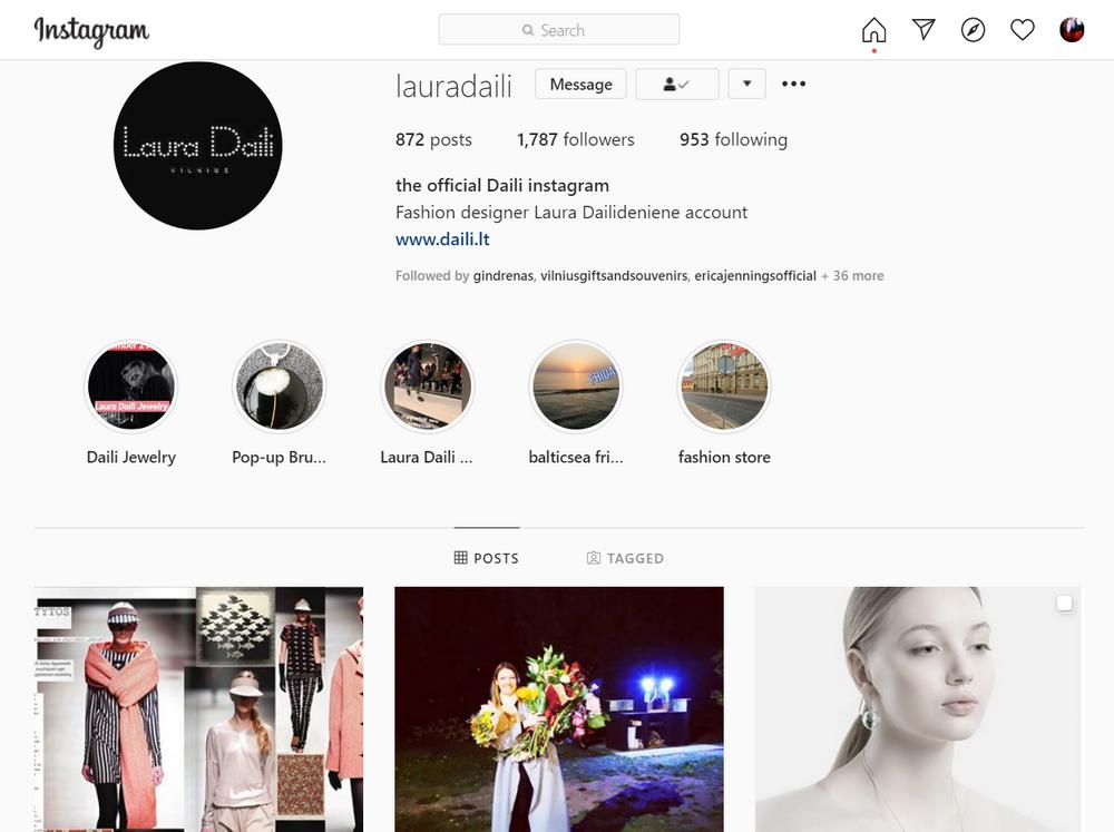 Laura Daili instagram, daili, dailijewelry, Dailideniene Dailidenas (4)