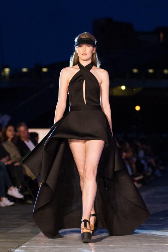 babe, shine sharp dress by lithuania designer laura daili fashion catwalk (11)
