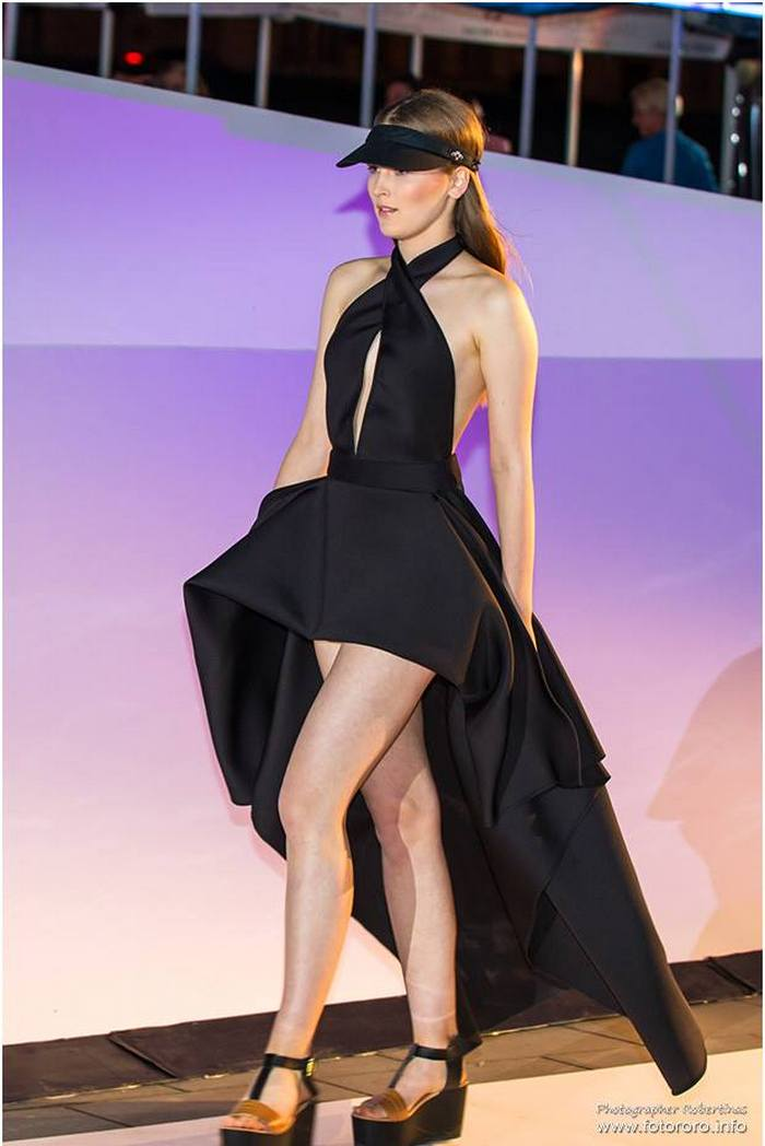 babe, shine sharp dress by lithuania designer laura daili fashion catwalk (12)