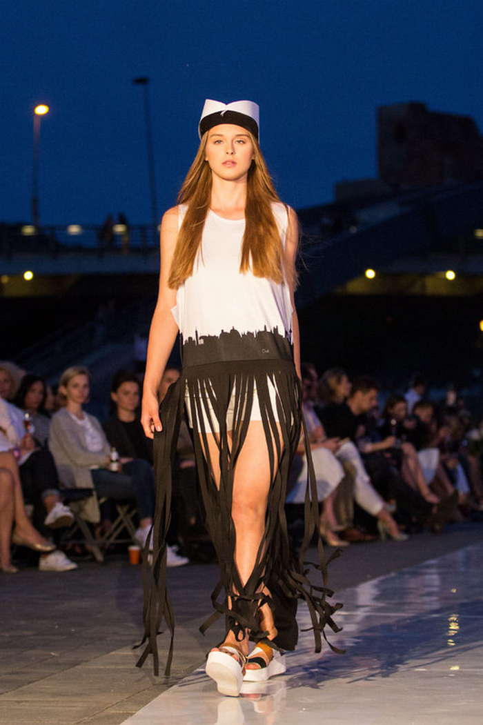 babe, shine sharp dress by lithuania designer laura daili fashion catwalk (4)
